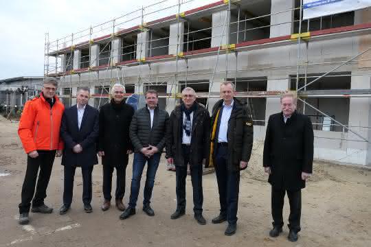 Grundstein gelegt: Neubau für Geschäftsstelle des VDBUM