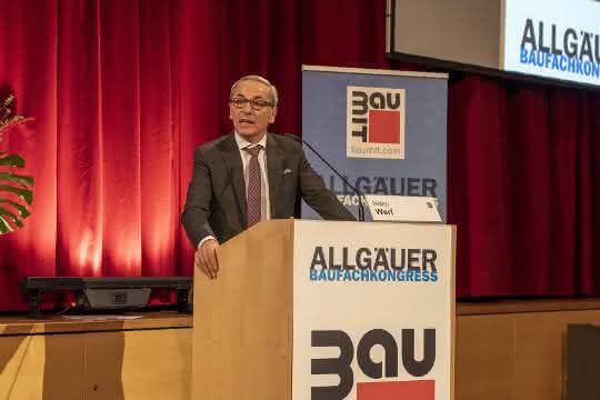 Allgäuer Baufachkongress 2020: Von BIM bis zu KI