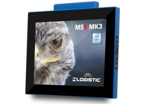 Handhabung verbessert: 4Logistic erweitert MS5 MK3 Staplerterminal-Serie