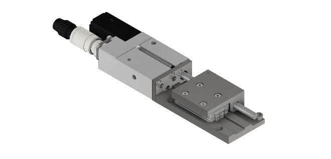 Motorische Miniatur-Schlittenführung