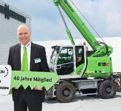 Sennebogen ist Schwerpunkt-Partner des VDBUM-Großseminars