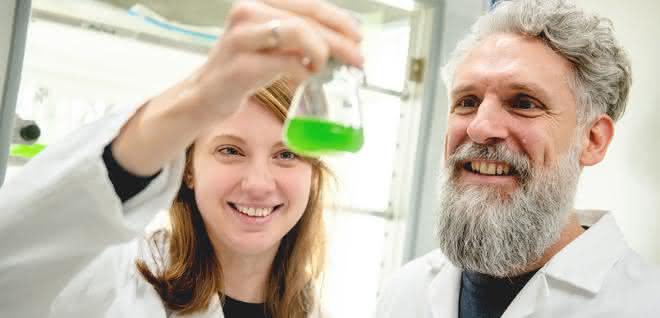 Jacqueline Thiemann (links) und Marc Nowaczyk