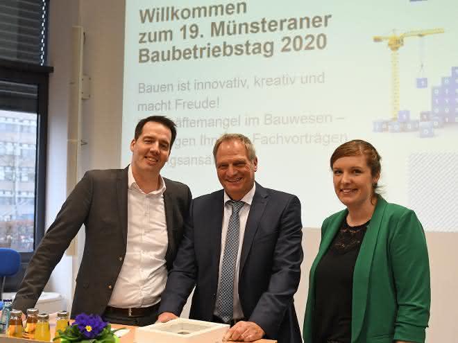 Baubetriebstag der FH Münster stellt Fachkräftemangel in den Fokus