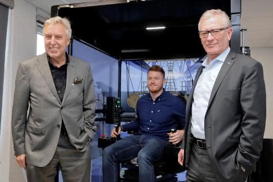duisport: 3D-Kransimulator im Duisburger Hafen