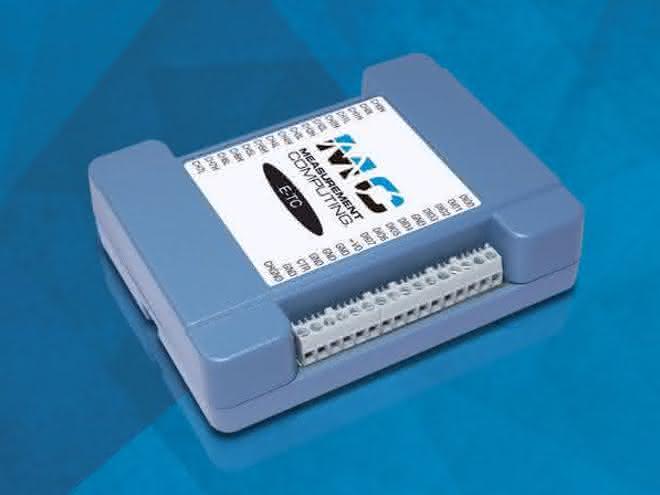 Temperaturerfassung: Messen mit Ethernet-Anschluss