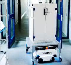Sterilgut-Transporte: Alleine unterwegs im Krankenhaus