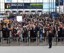 BAU 2021: Weltleitmesse BAU legt international weiter zu