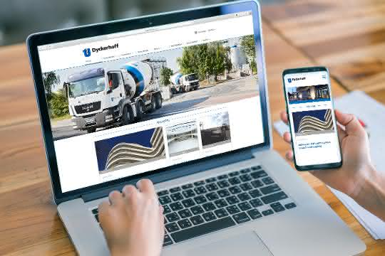 Website-Relaunch bei Baustoffhersteller: Dyckerhoff Homepage in neuem Design