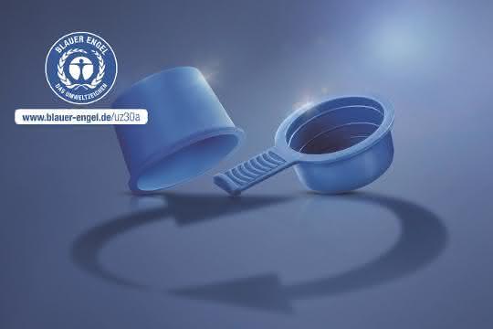 Die ressourcenschonenden Schutzelemente von Pöppelmann KAPSTO® sind jetzt mit dem Blauen Engel ausgezeichnet.
