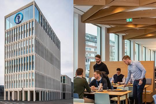 Neues Stammhaus für Kühne + Nagel: Kühne + Nagel eröffnet neue Deutschlandzentrale