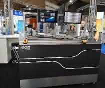 Demonstration des am KIT entwickelten Systems