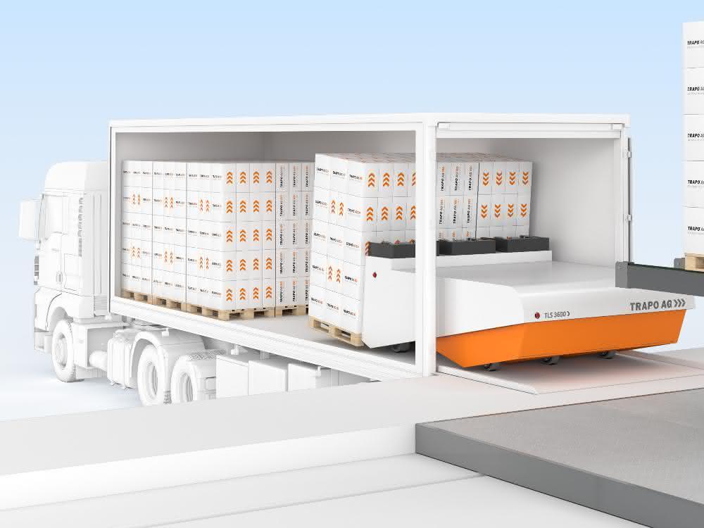 LogiMAT 2020: Trapo-Loading System für die Rampe