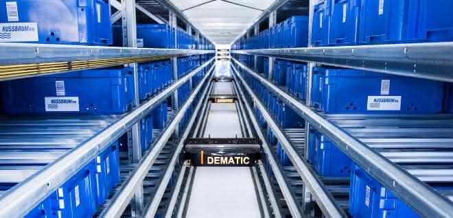 Hoher Durchsatz und der Einzug von KI bei Dematic