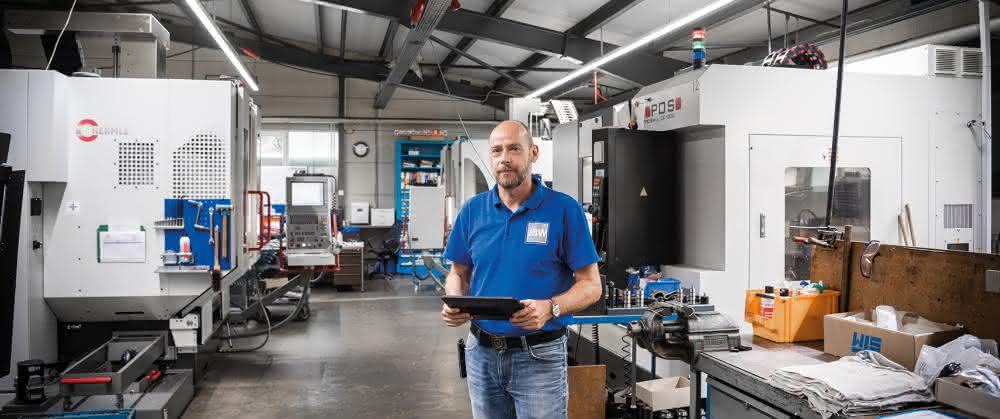 Geschäftsführer Markus Becker konnte dank der integrierten Software die Arbeitsabläufe im Werkzeugbau deutlich schlanker gestalten.