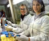 Theresa Graalmann und Katharina Borst