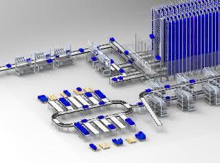 Automatische Kleinteilelager von LT Fördertechnik