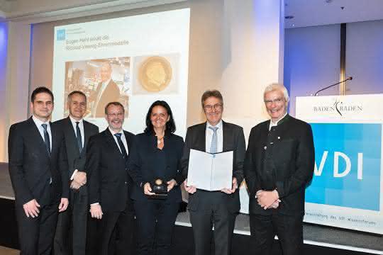 Von links: Martin Würtele, Kurt Gebert, Achim P. Eggert, Juliane Hehl, Herbert Kraibühler, Erwin Bürkle.
