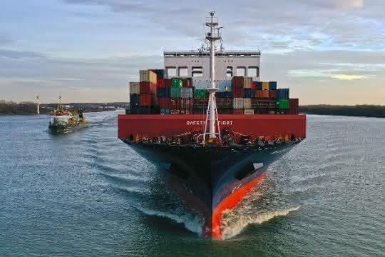 Hamburger Hafen Seegüterumschlag