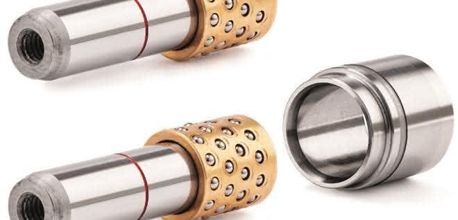 Die Mini-Feinzentrierung verschafft mehr Platz für den konstruktiven Aufbau innerhalb des Spritzgießwerkzeugs.