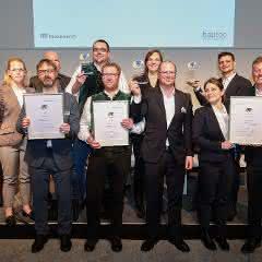 Innovationspreis auf der bautec verliehen