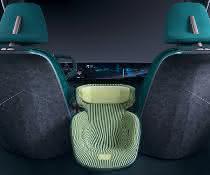 Ein neues Leichtbaukonzept für Sitzlehnen des Konzeptfahrzeugs Eno.146 soll das Gewicht des Autos reduzieren und die Nachhaltigkeit verbessern.