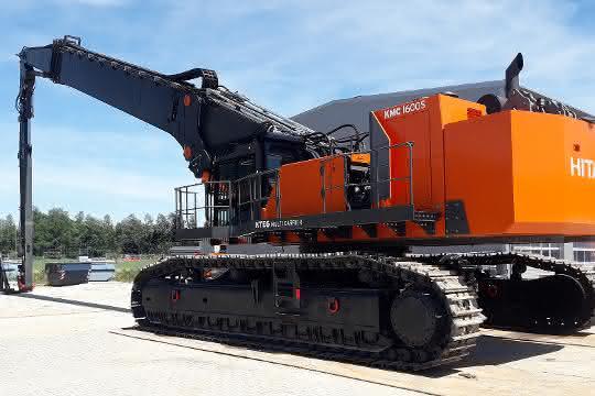 Hagedorn kauft 230 Tonnen Abbruchbagger