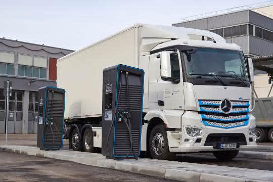 Weltweite Initiative für Elektro-Lkw-Ladeinfrastruktur