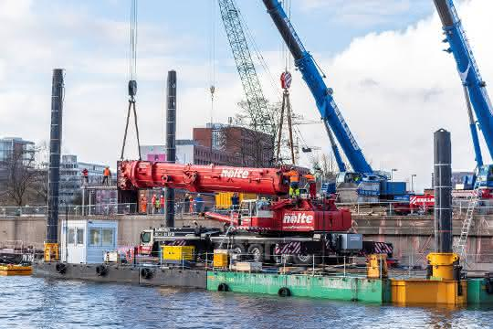 Schwergut-Logistik: Gustav Seeland macht Hamburger S-Bahn fit