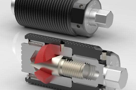 Spannkräfte bis 250 Kilonewton lassen sich mit geringen Handkräften rein mechanisch erzeugen.