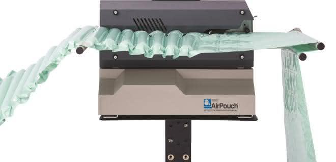 Nachhaltig und highspeed: Luftpolster On-Demand aus Geotech-Recyclingfolie