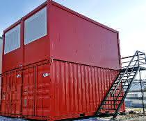 Flexible Baustellencontainer