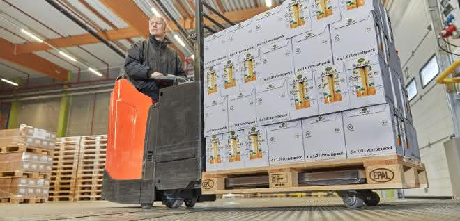 EPAL: Paletten-Produktion bleibt 2019 auf hohem Niveau