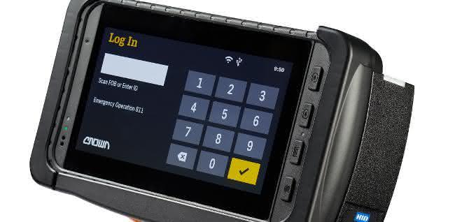 Crown launcht neues Display für Flottenmanagementsystem