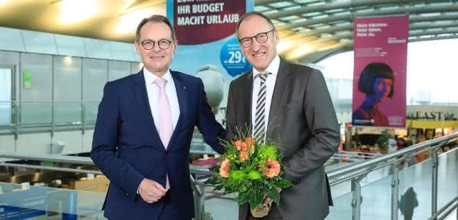 Ludger van Bebber wird neuer Chef am Dortmund Airport