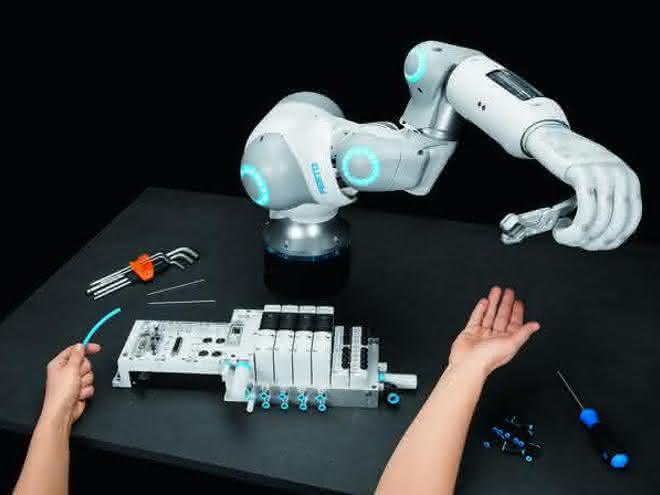 Bionic Soft Hand und Soft Arm: Wo Pneumatik auf KI trifft
