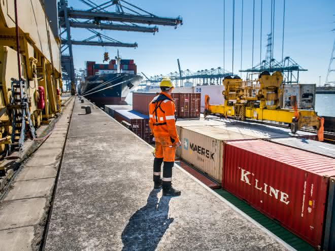 Covid-19-Taskforce: Hafen Antwerpen funktioniert zu 100 Prozent