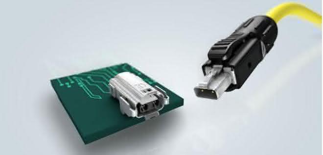 "Single Pair Ethernet (SPE) Schnittstelle ""Industrial Style"""