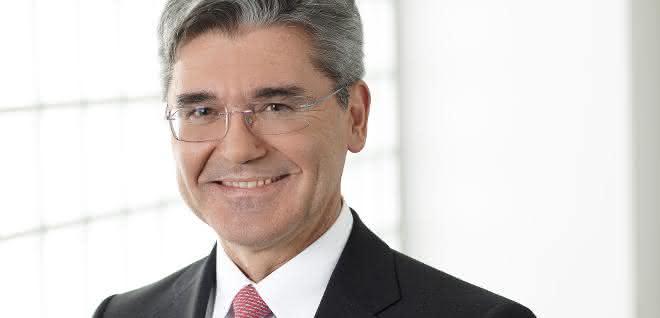 Joe Kaeser, Siemens