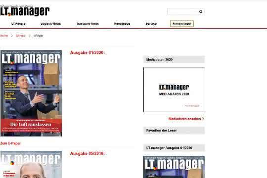 Ihr LT-manager - jetzt als ePaper lesen