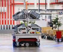 Audi setzt Intralogistik mit item Komponenten um