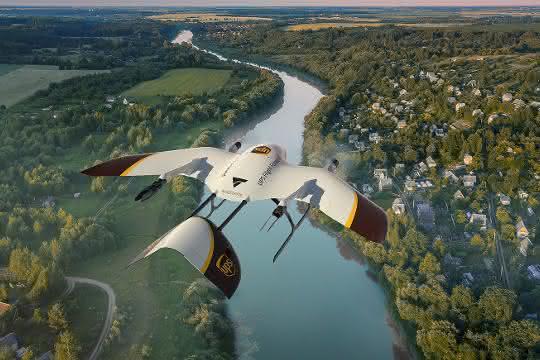 Drohnen: UPS-Tochter kooperiert mit Wingcopter
