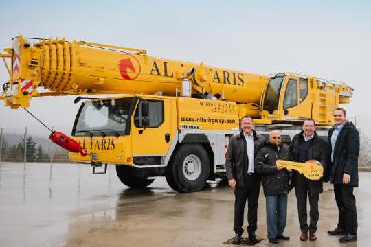 69 Mobil- und Raupenkrane: Al Faris erteilt Großauftrag an Liebherr