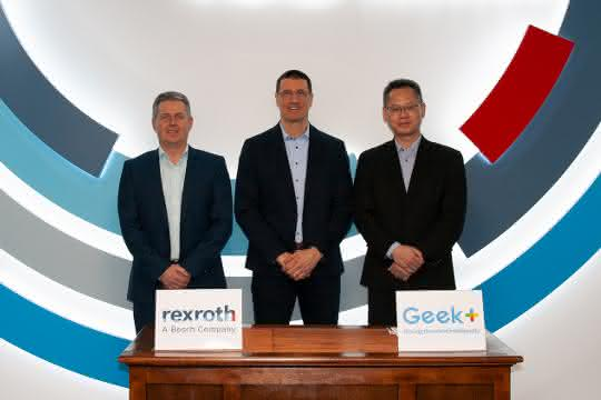 Bosch-Rexroth-Geekplus Kooperation