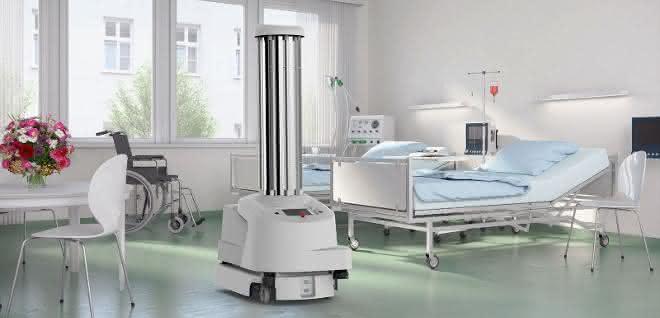 Desinfektionsroboter UVD von Blue Ocean Robotics