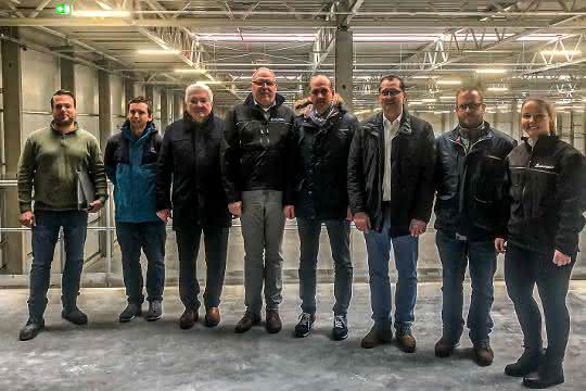 Schuon nimmt neues Logistikcenter in Wildberg in Betrieb