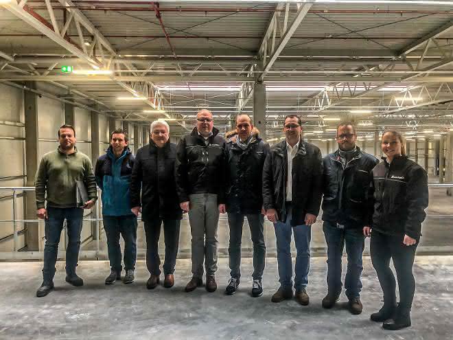 Schuon nimmt neues Logistikcenter in Wildberg in Betrieb