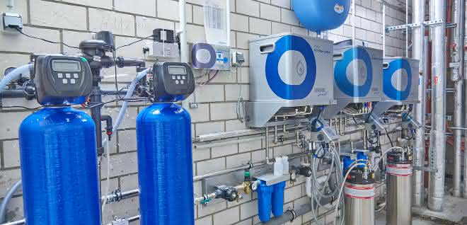 Mehrstufige Wasseraufbereitung