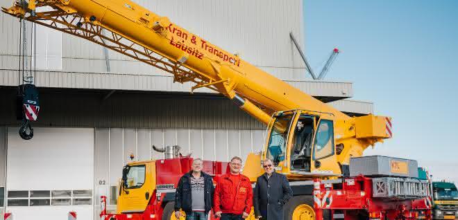 Kran & Transport Lausitz übernimmt neuen Liebherr-Mobilkran