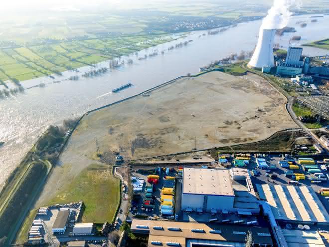 duisport stellt Bauantrag für neues trimodales Containerterminal