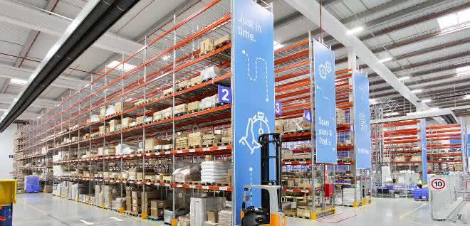 """AR-Racking-Systeme in neuem """"Smart Warehouse"""" von Thyssenkrupp"""